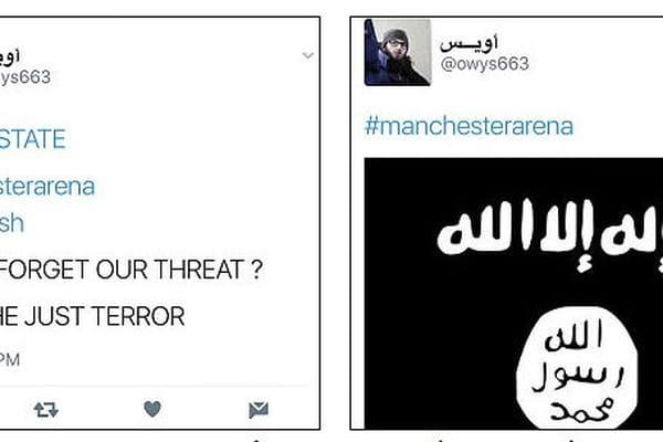 Des menaces sur Manchester 4 heures avant l'attaque - Attentat de Manchester, Salman Abedi ©Twitter - Daily Mail