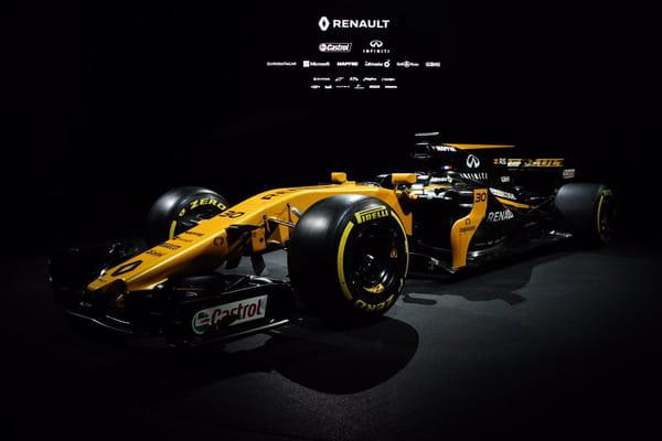 Ca y'est, la F1 Renault 2017 est enfin présentée ! - Renault F1 2017 ©Twitter Renault