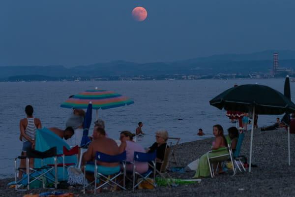 Prochaine éclipse de lune - Eclipse de lune 2018 ©Alfonso Di Vincenzo / IPA/SIPA