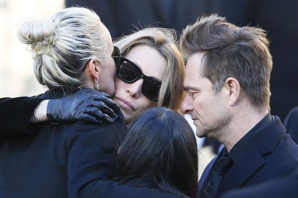 Avec Laura Smet, sa relation est bonne - Laeticia Hallyday ©Francois Mori/AP/SIPA
