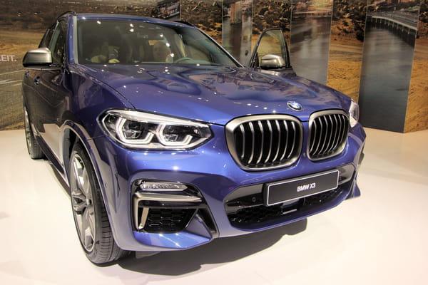 Le BMW X3 dévoilé - Salon de Francfort ©G.Bardou/Linternaute.com