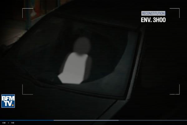 Affaire Maëlys - Lelandais : l'image de vidéosurveillance reconstituée et diffusée par BFM - Maëlys - Nordahl Lelandais ©Capture BFMTV