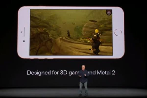 iPhone 8 : un processeur bien plus rapide que le précédent modèle - iPhone 8, iPhone X ©Apple Keynote