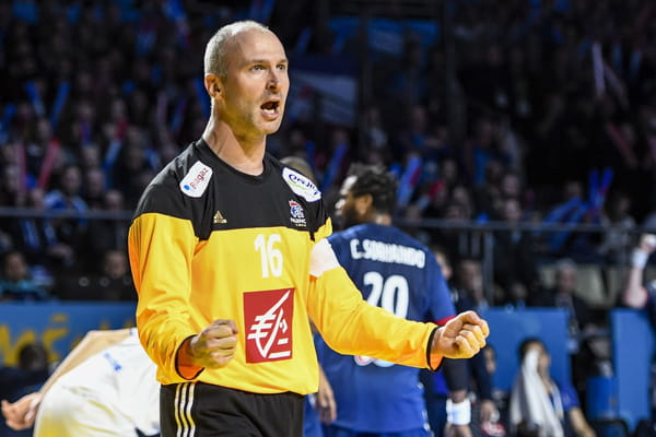 Thierry Omeyer infranchissable - France - Brésil en direct (handball) ©Coudert Sports Vision/SIPA