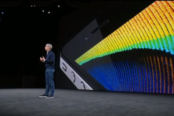 Le nouvel iPhone enfin présenté - iPhone 8, iPhone X ©Keynote d'Apple
