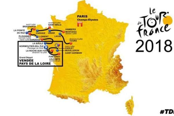 Des fuites sur le parcours du Tour 2018 ? - Tour de France ©Capture Twitter