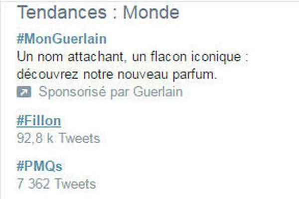 #Fillon en Top Tweet mondial - Election présidentielle 2017: actus, dates, candidats, sondages, résultat ©Capture d'écran Twitter