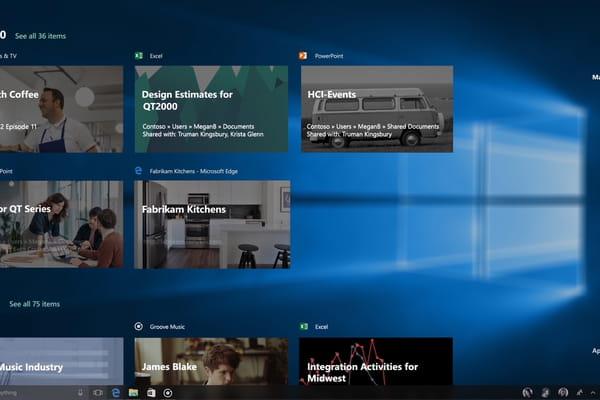 Windows 10 Fall Creators: une interface modernisée et des ponts vers iOS et Android - Windows 10 ©