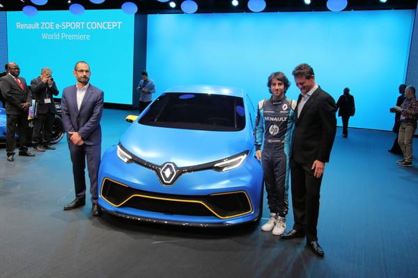 La surprise électrique de Renault : Zoé E-Sport Concept - Salon de Genève ©G.Bardou/Linternaute.com