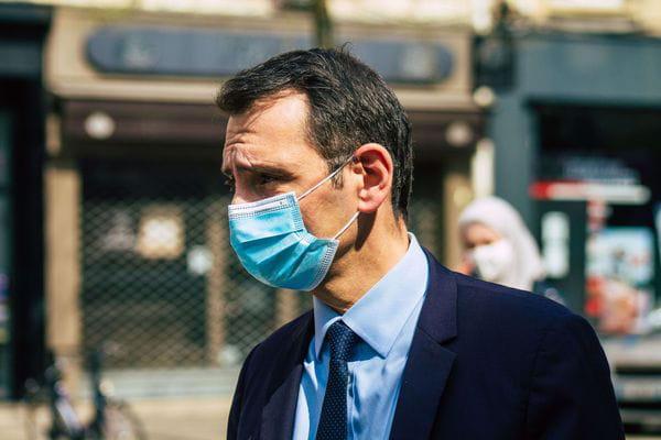 Laurent Jacobelli, candidat RN dans le Grand-Est, crédits : Jose Hernandez/Shutterstock/SIPA
