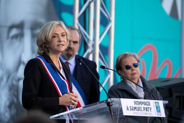 Valérie Pécresse veut supprimer 150 000 postes dans l'administration - Présidentielle 2022 ©ROMUALD MEIGNEUX/SIPA