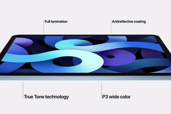 Apple présente également un nouvel iPad Air - Apple Keynote 2020 © Apple