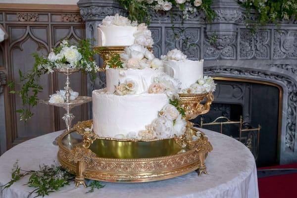 Le très chic gâteau de mariage de Meghan Markle et du prince Harry - Mariage prince Harry ©Shutterstock/SIPA
