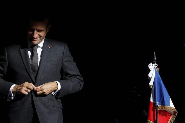 Nouveau sondage : Macron intouchable, trio serré à droite - Présidentielle 2022 ©Christian Hartmann/AP/SIPA