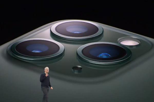 Apple dévoile les iPhone 11 Pro et iPhone Pro Max ! - Keynote Apple iPhone 11 Pro ©
