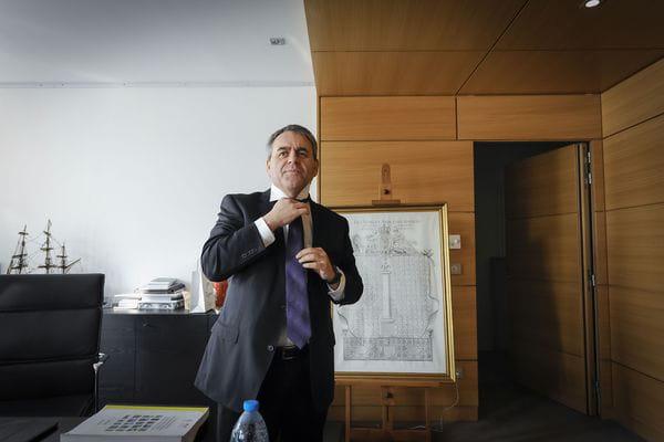 Xavier Bertrand, candidat aux régionales dans les Hauts-de-France, crédits : Sarah ALCALAY/SIPA