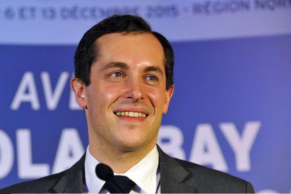 Nicolas Bay, candidat RN en Normandie, crédits : ROBERT BEAUFILS/SIPA