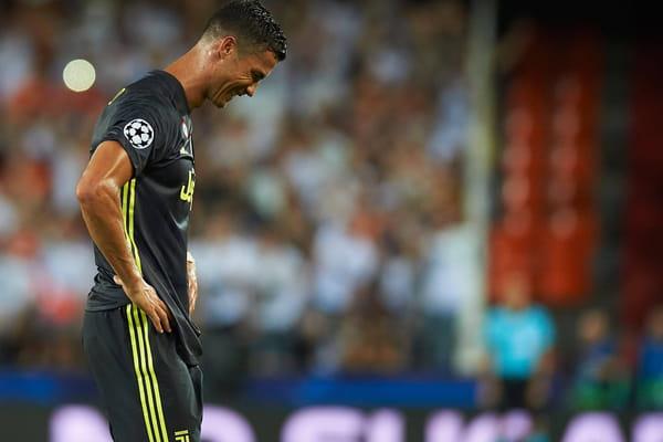 L'image de la soirée en Ligue des Champions : les larmes de Ronaldo - Ligue des champions ©Bagu Blanco/BPI/REX/Shutterstock/SIPA