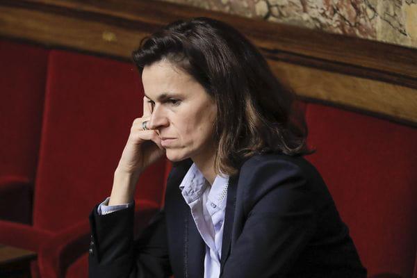 Aurélie Filipetti, candidate aux élections régionales dans le Grand-Est, crédits : STEPHANE ALLAMAN/SIPA