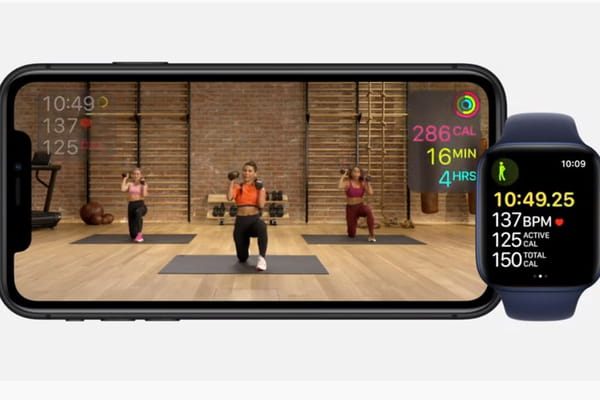 Apple lance un service Fitness - Keynote Apple 2020 ©