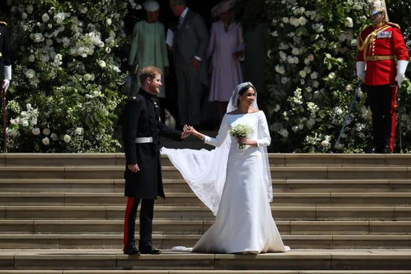 On connaît enfin le nom du créateur de la robe de Meghan ! - Mariage prince Harry Meghan Markle ©