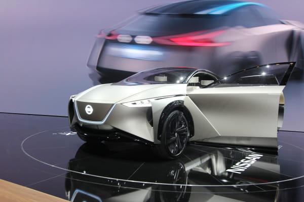 L'IMx, le futur SUV électrique de Nissan ? - Salon de Genève ©G.Bardou/Linternaute.com