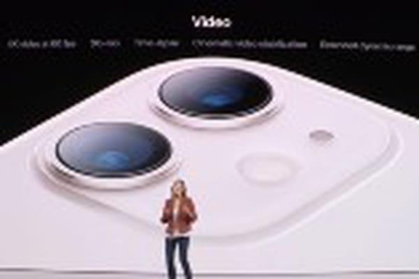 L'iPhone 11 embarque comme attendu seulement deux objectifs photo - Keynote Apple iPhone 11 Pro ©