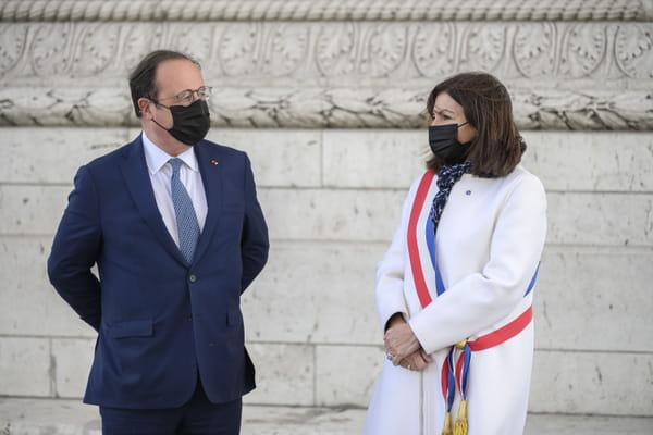 """François Hollande votera """"socialiste et donc Anne Hidalgo"""" - Présidentielle 2022 ©ELIOT BLONDET-POOL/SIPA"""