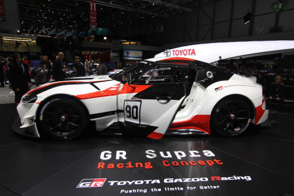 La GR Supra Racing Concept de Toyota - Salon de Genève ©G.Bardou/Linternaute.com
