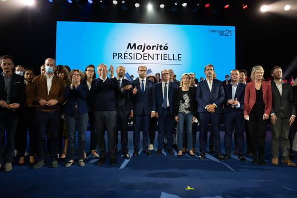 """LREM lance une """"cellule de riposte"""" face aux candidats - Présidentielle 2022 ©Jacques Witt/SIPA"""