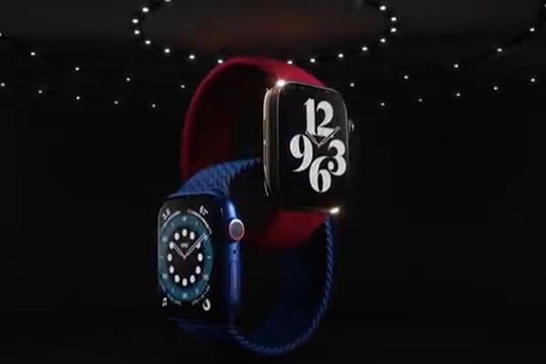 Une Apple Watch rouge pour la toute première fois - Keynote Apple 2020 ©