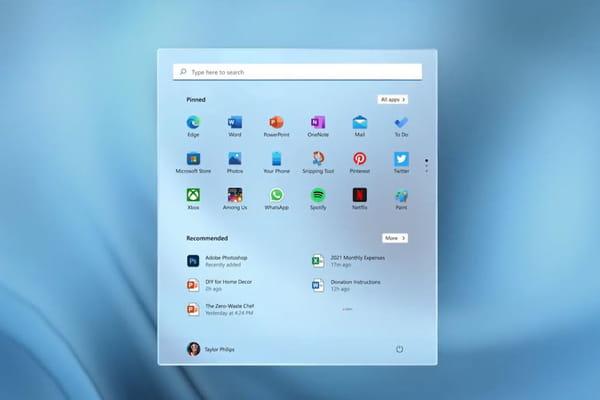 Windows 11: Concepto - Windows 11 ©