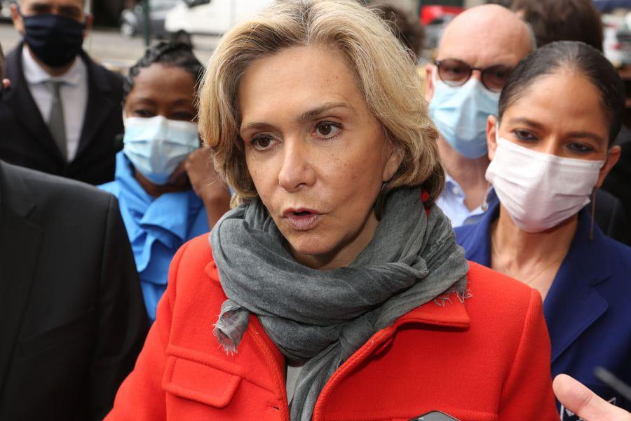 Valérie Pécresse, candidate aux élections régionales en Île-de-France, crédits SEVGI/SIPA
