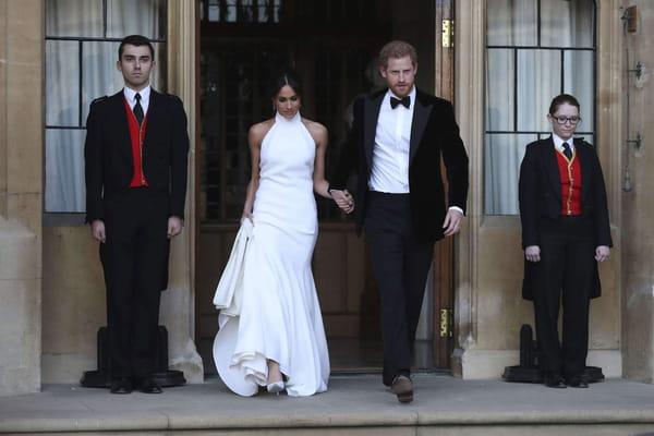 L'autre robe de Meghan Markle - Mariage prince Harry ©Steve Parsons/AP/SIPA