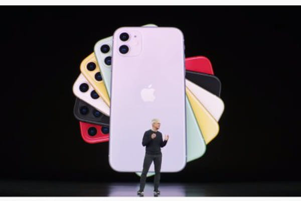 Tim Cook dévoile l'iPhone 11 - Keynote Apple iPhone 11 Pro  ©
