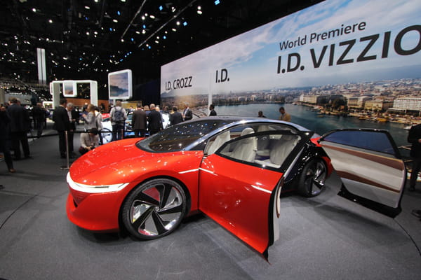 Volkswagen dévoile son concept de berline électrique, ID Vizzion - Salon de Genève ©G.Bardou/Linternaute.com