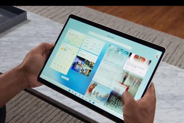 Los gadgets se integran con Windows - Windows 11 ©