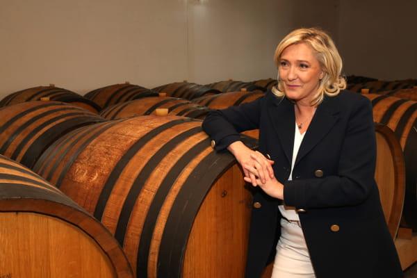 Marine Le Pen convaincue d'être devant Eric Zemmour au premier tour - Marine Le Pen - Présidentielle 2022 ©